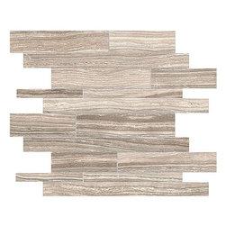 Anatolia - Eramosa Clay Matte Random Linear Mosaic - 10.00 Square Feet per Carton