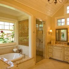 Traditional Bathroom by Duxbury Architects