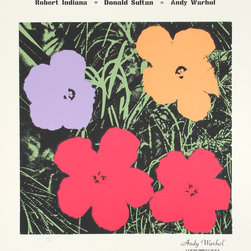 Andy Warhol, Master American Comtemporaries II, Silkscreen - Artist:  Andy Warhol, After, American (1928 - 1987)