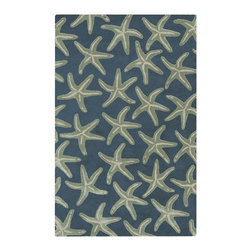 Surya - Surya Lighthouse LTH-7006 (Night Sky, Blue Haze) 5' x 8' Rug - This Hand Tufted rug would make a great addition to any room in the house. The plush feel and durability of this rug will make it a must for your home. Free Shipping - Quick Delivery - Satisfaction Guaranteed