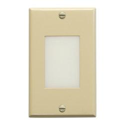 Kichler Lighting - Kichler Lighting 12654IV Step And Hall Lights Deck/Step Lighting in Ivory - LED Step Light Lens
