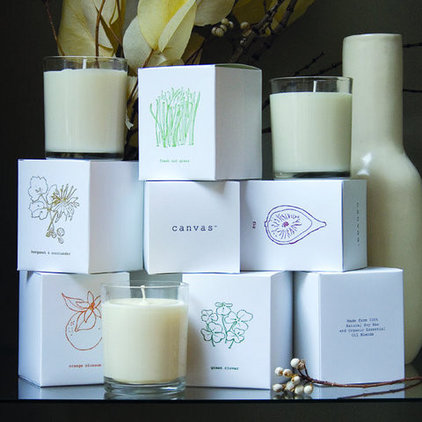 Candles And Candle Holders by canvas