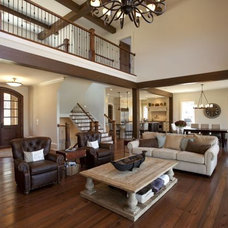 Traditional Living Room by Michelle Tumlin Design