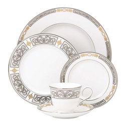 Lenox - Lenox Antiquity 5-Piece Place Setting - Lenox Antiquity 5-Piece Place Setting