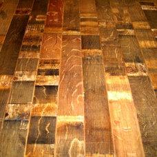Eclectic Wood Flooring by Reclaimed DesignWorks