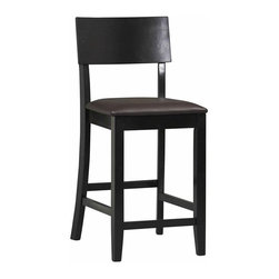 Linon - Torino Contemporary Counter Stool 24 in. Multicolor - 01854BLK-01-KD-U - Shop for Stools from Hayneedle.com! Please note: This item is not intended for commercial use. Warranty applies to residential use only. About Linon Home Decor Linon Home Decor Products has established a reputation in the market for providing the best trend-right products at the right price while offering excellent quality style and functional furnishings to every room in the home. Linon offers a broad selection of furnishings for today's discriminating and demanding retail environments. They offer outstanding values for every room; a total commitment of quality service and value that is unsurpassed in their industry.