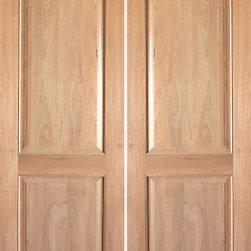 """Rustic-3 Interior Tropical Hardwood 2 Panel Double Door - SKU#Rustic-3-2BrandAAWDoor TypeInteriorManufacturer CollectionInterior Rustic DoorsDoor ModelDoor MaterialWoodWoodgrainTropical HardwoodVeneerPrice560Door Size Options2(15"""") x 80"""" (2'-6"""" x 6'-8"""")  $02(18"""") x 80"""" (3'-0"""" x 6'-8"""")  +$202(24"""") x 80"""" (4'-0"""" x 6'-8"""")  +$3402(28"""") x 80"""" (4'-8"""" x 6'-8"""")  +$3602(30"""") x 80"""" (5'-0"""" x 6'-8"""")  +$3602(32"""") x 80"""" (5'-4"""" x 6'-8"""")  +$3602(36"""") x 80"""" (6'-0"""" x 6'-8"""")  +$3802(42"""") x 80"""" (7'-0"""" x 6'-8"""")  +$9002(15"""") x 96"""" (2'-6"""" x 8'-0"""")  +$1002(18"""") x 96"""" (3'-0"""" x 8'-0"""")  +$1202(24"""") x 96"""" (4'-0"""" x 8'-0"""")  +$5002(28"""") x 96"""" (4'-8"""" x 8'-0"""")  +$5202(30"""") x 96"""" (5'-0"""" x 8'-0"""")  +$5202(32"""") x 96"""" (5'-4"""" x 8'-0"""")  +$5202(36"""") x 96"""" (6'-0"""" x 8'-0"""")  +$5402(42"""") x 96"""" (7'-0"""" x 8'-0"""")  +$1220Core TypeSolidDoor StyleDoor Lite StyleDoor Panel Style2 PanelHome Style MatchingMediterranean , Pueblo , Prairie , LogDoor ConstructionSolid Stile and RailPrehanging OptionsPrehung , SlabPrehung ConfigurationDouble DoorDoor Thickness (Inches)1.75Glass Thickness (Inches)Glass TypeGlass CamingGlass FeaturesGlass StyleGlass TextureGlass ObscurityDoor FeaturesDoor ApprovalsDoor FinishesDoor AccessoriesWeight (lbs)680Crating Size25"""" (w)x 108"""" (l)x 52"""" (h)Lead TimeSlab Doors: 7 daysPrehung:14 daysPrefinished, PreHung:21 daysWarranty1 Year Limited Manufacturer WarrantyHere you can download warranty PDF document."""
