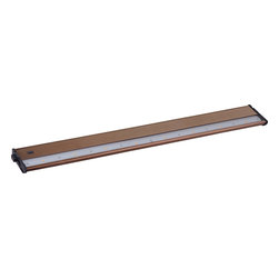 Maxim Lighting - Maxim Lighting CounterMax MX-L120DC Under Cabinet X-BM62998 - With a sleek profile and direct wiring, this fully dimmable state-of-the-art CounterMax MX-L120DC under cabinet light, powered by choice of 3000K LED manufactured by CREE or 2700K LED manufactured by Philips Luxeon , easily installs under the cabinet with it's built-in knock outs and emits a crisp white light which illuminates without shadows. The hinged top gives easy access for installation and wiring. Cabinets stay cool and safe with LED light output. CounterMax MX-L120DC is linkable without or with cords using MXInterLink4 accessories.