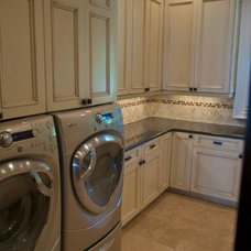Traditional Laundry Room by Keri Henley CKD, CBD