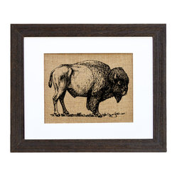 Buffalo In The Wild Art