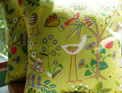 eclectic pillows by Etsy