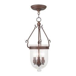 Livex Lighting - Livex Lighting 5083 Jefferson 3 Light Mini Pendant - Features: