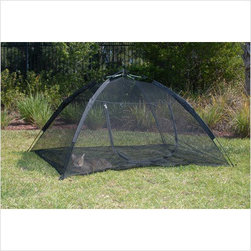 ABO - ABO 10672 BLACK HAPPY HABITAT POP UP MESH TENT WITH SAFETY - ABO 10672 BLACK HAPPY HABITAT POP UP MESH TENT WITH SAFETY