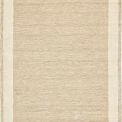 Safavieh - Safavieh DuraRug EZC427A 6' x 9' Natural Rug - With rich, luscious detailing and a vibrant feel, Safavieh's DuraRug collection brings life to any space. Hand-tufted of pure wool with strong cotton backing, these traditionally beautiful rugs can withstand even the most highly traveled areas of your home.