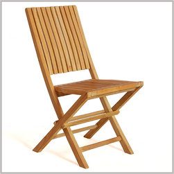 Teak Chairs - Rest your back comfortably on this back rest and feel the column fit with your back. No pain with this chair, only comfort.