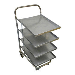 Vintage Metal Rolling Cart - $1,950 Est. Retail - $650 on Chairish.com -