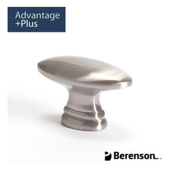 9426-1BPN-P Brushed Nickel Cabinet Knob by Berenson - Contemporary cabinet knob in Brushed Nickel. This collection features clean, smooth lines, and quality materials guaranteed to make an impression at an affordable price.