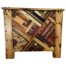 Rustic Headboards by Circle Goods Reclaimed