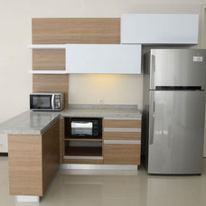 Contemporary Kitchen Cabinets by Melior Kitchen