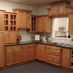Cinnamon Maple Kitchen Cabinets Home Design - We ship out hundreds of Cinnamon Maple kitchen Cabinets each month from our fully stocked warehouses across the US. You can receive your new cabinets in just 7-14 business days!