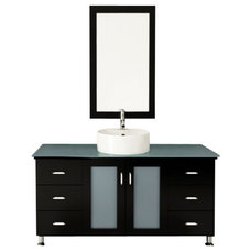 Transitional Bathroom Vanities And Sink Consoles by BathGems
