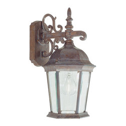 Livex Lighting - Livex Lighting 7555-18 Hamilton Wall Light Weathered Brick - -Finish: Weathered Brick