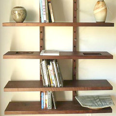 contemporary wall shelves by wuda