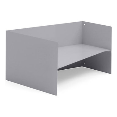 Turnstone - Bivi Organizer - The Bivi Organizer fits into the Bivi Floating Side Storage, or can be used on the desktop to keep papers organized. It works as an inbox/outbox, or just as a basic organizer. Powder-coated steel construction.