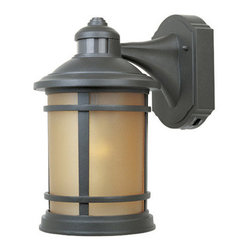 "Designers Fountain - Designers Fountain 2371MD-ORB 1 Light 7"" Cast Aluminum Wall Lantern with Motion - Features:"