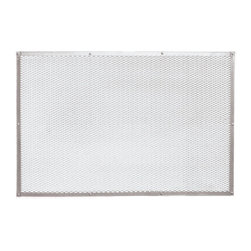 Paderno World Cuisine - 15-3/4 by 23-5/8-in. Aluminum Perforated Pizza Baking Sheet - This Paderno World Cuisine 15-3/4-in. aluminum perforated pizza baking sheet produces a more evenly baked crust by allowing air to circulate beneath the crust.