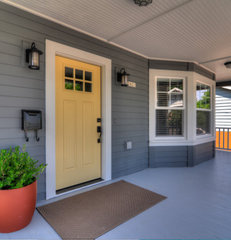 traditional porch by TTM Development Company