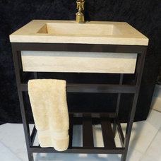 Contemporary Bathroom Sinks by StoneMar Natural Stone Company LLC