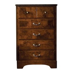 Standard Furniture - Standard Furniture San Miguel 5 Drawer Chest in Oak and Olive Ash - Standard Furniture - Chests - 51105 - About The San Miguel Collection: