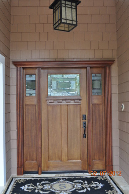 Contemporary Front Doors by Heckard's Door