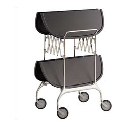 Kartell - Gastone Folding Trolley - Gastone Folding Trolley