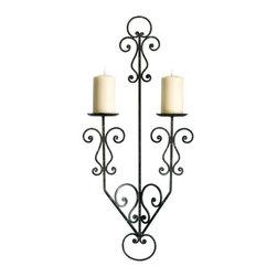 Cyan Design - Cyan Design 04331 Decorative Scroll Candleholder - Cyan Design 04331 Decorative Scroll Candleholder