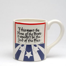 ATD - 5.75 Inch Red/White/Blue Patriotic American Themed Quote Mug - This gorgeous 5.75 Inch Red/White/Blue Patriotic American Themed Quote Mug has the finest details and highest quality you will find anywhere! 5.75 Inch Red/White/Blue Patriotic American Themed Quote Mug is truly remarkable.