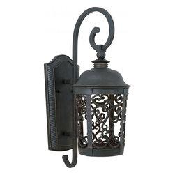 Joshua Marshal - One Light Bronze Wall Lantern - One Light Bronze Wall Lantern