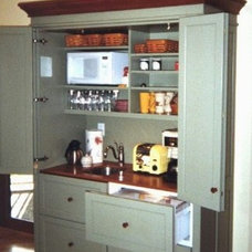 Eclectic Kitchen Cabinets by YesterTec Design Company