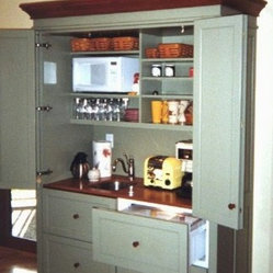 The Working Pantry - One of our Hospitality Centers ( a working pantry with a built-in ...