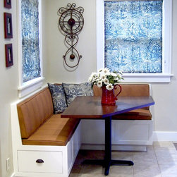 Corner Banquette and Table - Todd A. Clippinger
