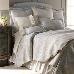 "Lili Alessandra Queen Battersea Quilted Coverlet, 106"" x 106"""