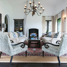 Traditional Living Room by Barondes Morris Design