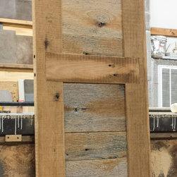Rustic doors interior barn door from reclaimed barn wood