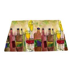 xmarc - Bar Area Rugs, Tuscany Wine - Tuscany wine bar area rugs from my art.