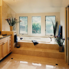 Traditional Bathroom by Kaplan Architects, AIA