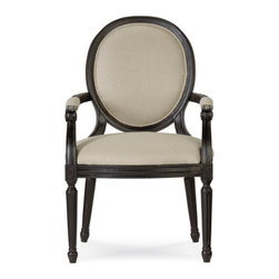 Universal Furniture - Low Country Louis Arm Chair -