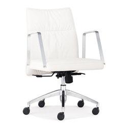 Zuo Modern - Zuo Modern Dean Modern Low Back Office Chair X-731602 - Zuo Modern Dean Modern Low Back Office Chair X-731602