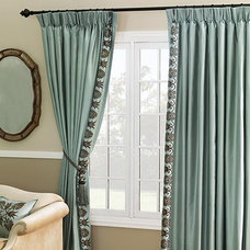 Traditional Curtains by FRONTGATE