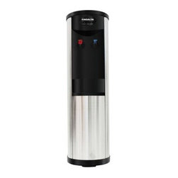 Ragalta - Hot and Cold Stainless Steel Water Cooler - Compressor/ Electronic Hot and Cold Stainless Steel Water Cooler with 220 Watt 110V/50Hz/ 60Hz heating power. Refrigeration power 550with 90W. Capable of producing hot water at 90 degrees C 5 liters per hour. Capable of producing cold water at 10 degrees C 5 liters per hour. Stainless Steel Elegant design.